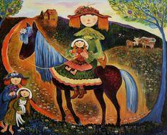 Neree de Grace - La Lecon DEquitation (de) Grace, Inspire, Artists, Country, Painting, Inspiration, Painters, Biblical Inspiration, Rural Area