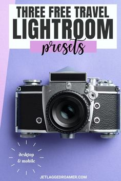 Brighten your photos instantly with these 3 free travel Lightroom presets. Learn how to add your presets in this post with one of the best photo editing apps. You can began editing pictures in seconds with these presets for Lightroom. Desktop and mobile compatible.