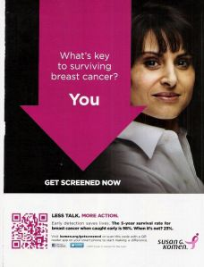 Are mammograms your best shot at surviving breast cancer?  Not so fast...
