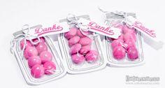 Danke-Goodies mit Stampin Up Glasklare Grüße