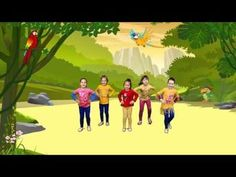 Another rhythm movie clip for practising reading! This time I have the same rhyt… Another rhythm movie clip for practising reading! This time I have the same rhythmic pattern appearing every second frame – Rondo Form. I have coloured this … Physical Activities For Kids, Music Activities, Preschool Activities, Camp Songs, Kids Songs, Just Dance Kids, Brain Break Videos, Zumba Kids, Jungle Music