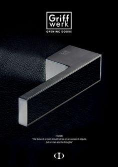 frame, Griff Werk, german, lever, door handle