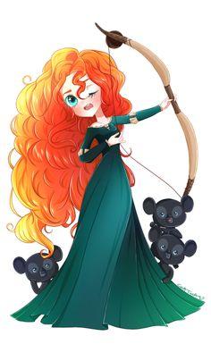 ::Disney+Dreamies::+-+Merida+-+by+MissElysium.deviantart.com+on+@DeviantArt