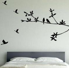 vinilicos decorativos para pared ramas - Buscar con Google
