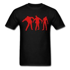 Zombies Mens T-Shirt $18 Anytime anyplace , now they are on board huh ..
