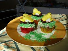 Smart Allergy Friendly Education: PEEPS Dairy-Free Easter Cupcakes