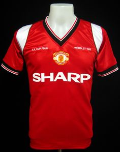 Manchester United 1985 FA Cup Final Shirt
