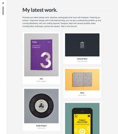 2column wordpress theme by Array