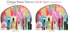 Clinique bonus @ Lord & Taylor. $32 spend required. Free shipping on 49+ orders. http://clinique-bonus.com/other-us-stores/