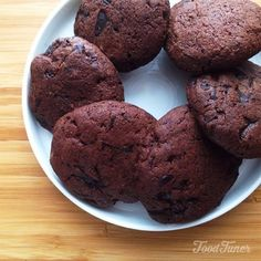 Chocolate and black pepper cookies on Food-Tuner.com