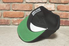motorcycle cafe racer black snap back hat