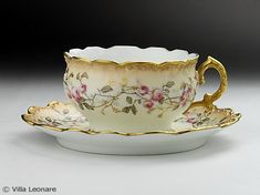 LIMOGES tea cup - Tableware shop Villa Leona Moltrasio