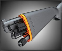 Henry AR-7 Survival Rifle.  What a great concept.