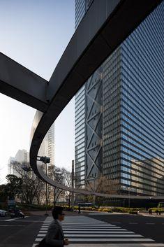 Shinjuku Mitsui Building. Architecte : Nihon Sekkei Ingénieur : Kiyoshi Mutō. 1974
