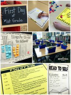 such fun and simple ideas for the first day of 1st grade i love how