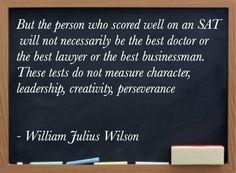 William Julius Wilson on Perseverance