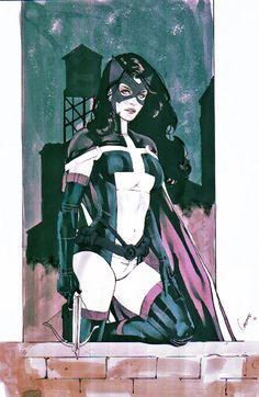 Huntress, in Jeffrey Dodd's Gardenio Lima Comic Art Gallery Room Comic Book Characters, Comic Books Art, Comic Art, Batwoman, Batgirl, Superhero Images, Dc Comics Girls, Batman The Dark Knight, Dc Heroes
