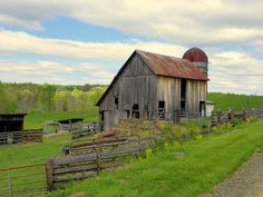 "Old Country Barn in Virginia....""At the end of the day, on the wings of your thoughts, go beyond the cares and troubles of the world."""