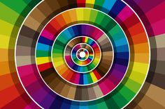 Mind Blowing Color Competition by Viktor Hertz, via Behance