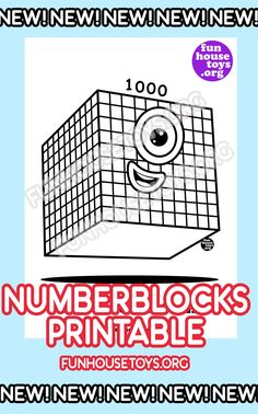 Have some fun with our collection of numberblocks printables. Find Printable Coloring Pages from Numberblocks here. Free Kindergarten Worksheets, Fun Worksheets, Free Printable Worksheets, Free Printable Coloring Pages, Math Activities, Free Printables, Fun Printables For Kids, Preschool Printables, Crayola Coloring Pages
