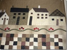That's my Button Town quilt.