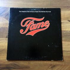 """Vintage Vinyl 12"""" Record - Fame / Original Soundtrack from the Motion Picture (1980)"""