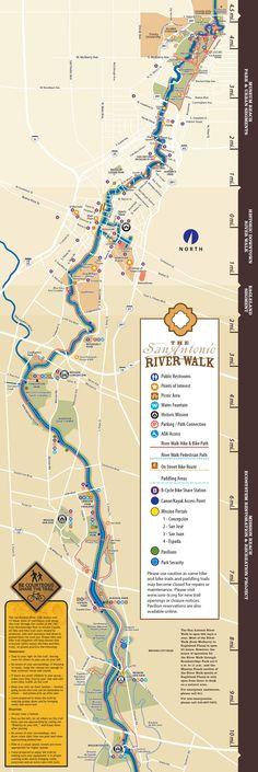 Pub San Run Map Antonio