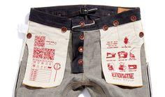 Introducing the freshly launched, ENDRIME; a premium denim brand created by denim designer Mohsin Sajid that focuses on ergonomic construction. Raw Denim, Denim Jeans, Skinny Jeans, Denim Branding, Fashion Branding, Hipster Jeans, Estilo Denim, Japanese Denim, Japanese Selvedge Denim