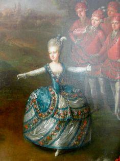 Marie-Antoinette dancing