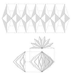 Check out the webpage to see more about Origami Projects Origami And Kirigami, Origami Ball, Origami Paper Art, Origami Folding, 3d Paper Crafts, Diy Origami, Paper Folding, Origami Templates, Box Templates