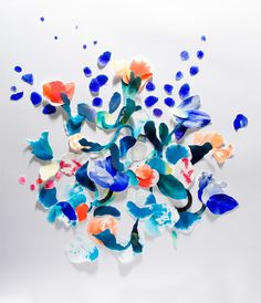 Flower collection | Still Life Paper Cut — Désirée Liberté
