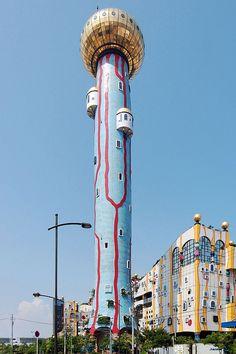 大阪市環境局 舞洲工場+舞洲スラッジセンター 写真一覧/フリデンスライヒ・フンデルトヴァッサー