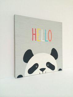 Panda Nursery Art -