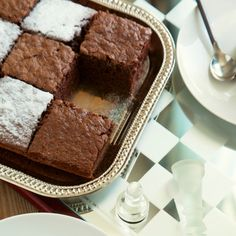 Make these fancy brownies to serve the next time you are in a chess match.  Simple to make and a fun presentation.. Fancy Brownies Recipe from Grandmothers Kitchen.