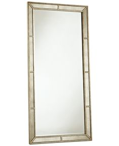 Ailey Floor Mirror - Mirrors - For The Home - Macy's Buy Living Room Furniture, Mirrored Bedroom Furniture, Loft Furniture, Street Furniture, Furniture Layout, Accent Furniture, Rustic Furniture, Living Room Decor, Furniture Websites