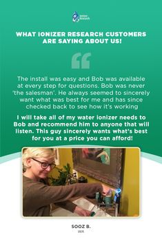 Water Ionizer Customer Testimonials - Water Ionizer Research Helping Others, Helping People, Drinking Alkaline Water, Health And Wellness, Health Care, Take All Of Me, Water Ionizer, Beauty Water, Good Customer Service