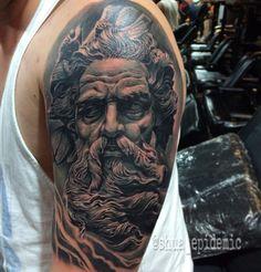 Zeus tattoo by shua epidemic
