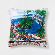 Cuscino Lino Stampato Riviera - Cuscini - Decorazione | Zara Home Italia