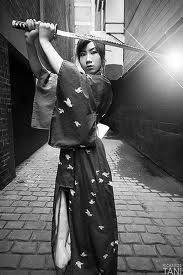 Katana  侍女 Spirit of the Samurai..
