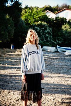 "oystermag: "" Oyster Fashion — 'Caroline' shot by Christos Kontos "" Fashion Mode, Fashion Beauty, Girl Fashion, Oyster Magazine, Dress Up Boxes, Street Style Summer, Sporty Style, Winter Fashion, Fashion Photography"