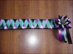 ribbon browband patterns | Thread: three ribbon browbands