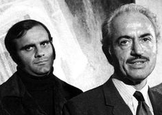 an old photo of Marvin Miller and Joe Torre