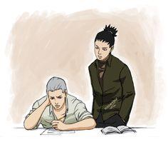 In which Hidan sucks at math and Shikamaru is his tutor.I hate math. Just a doodle break Tutor: Hidan and Shikamaru Anime Naruto, Naruto Shippuden Sasuke, Naruto Funny, Shikamaru, Akatsuki, Nara, Watch Boruto, Dark Anime, Animes Wallpapers