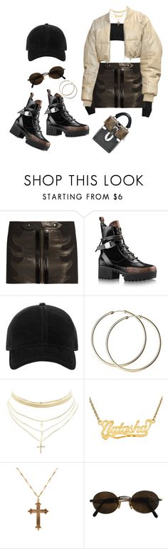 """""""Untitled #300"""" by uraveragestyle ❤ liked on Polyvore featuring Anthony Vaccarello, rag & bone, Charlotte Russe, ASOS and Moschino"""