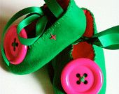 My fav pair of baby shoes i have made to date bias I know but who cares!!!!   www.folksy.com/... £12