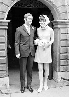"""Audrey Hepburn, who married Italian psychiatrist Andrea Dotti, nine years her junior, in 1969. Hepburn said she would leave her acting career to become an """"Italian housewife."""