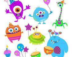 Popular items for cute monster on Etsy