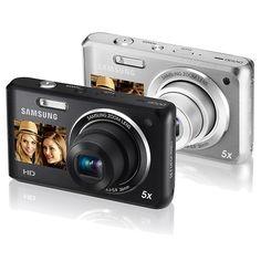 I really want one!!     Samsung DV101 Dual View Digital Camera 16MP 5X Optical Zoom | eBay
