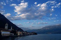 Lake Garda in Gargnano Italy