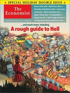 The Economist cover - Dec. 2012.